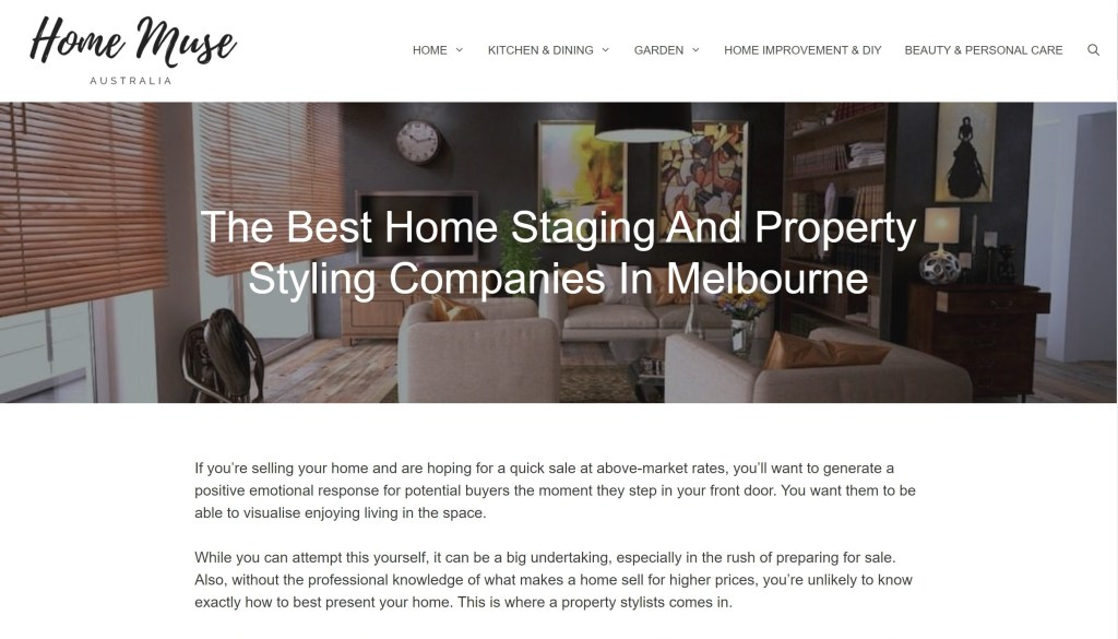 The Best Home Staging and Property Styling Companies in Melbourne