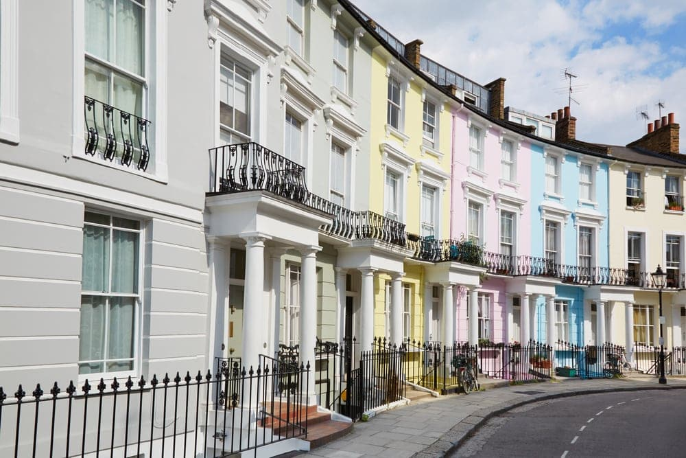 London rent fall drags down national average