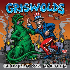 8Griswolds | Godzilla vs America | CD| 81182110523