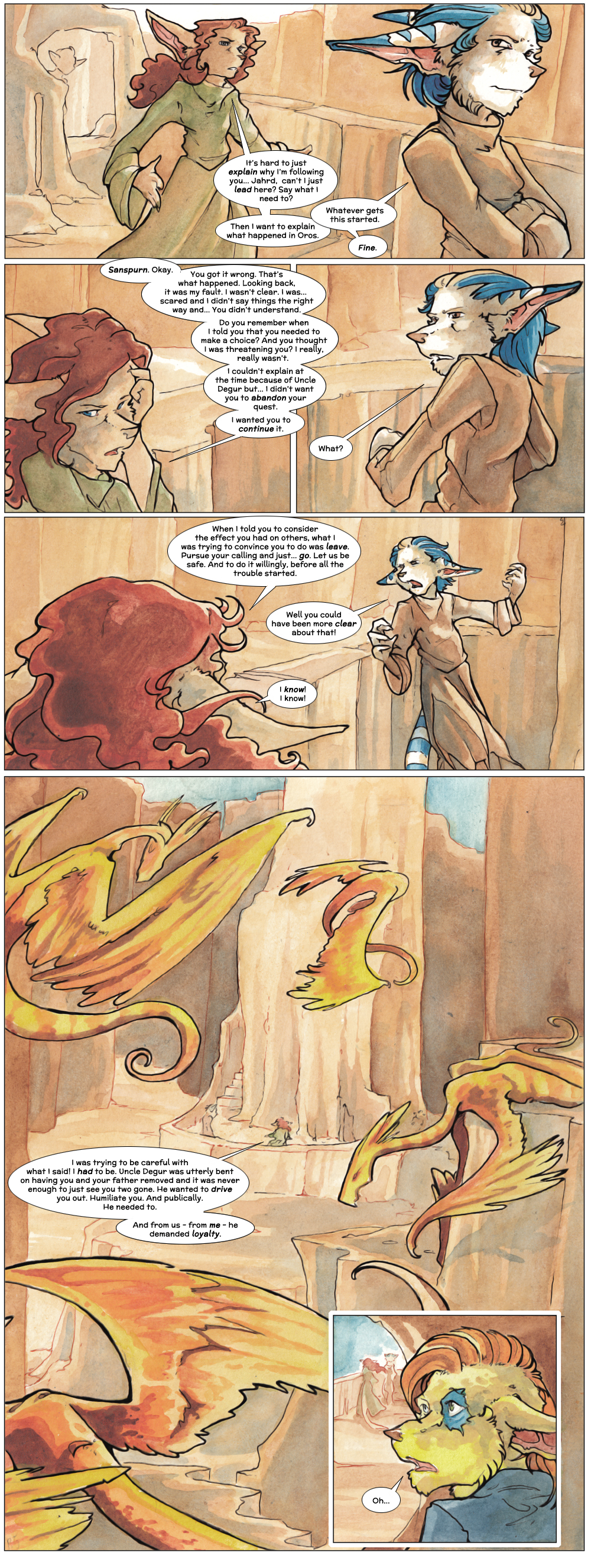 Chapter Three: Jahrd's Story: Page 22