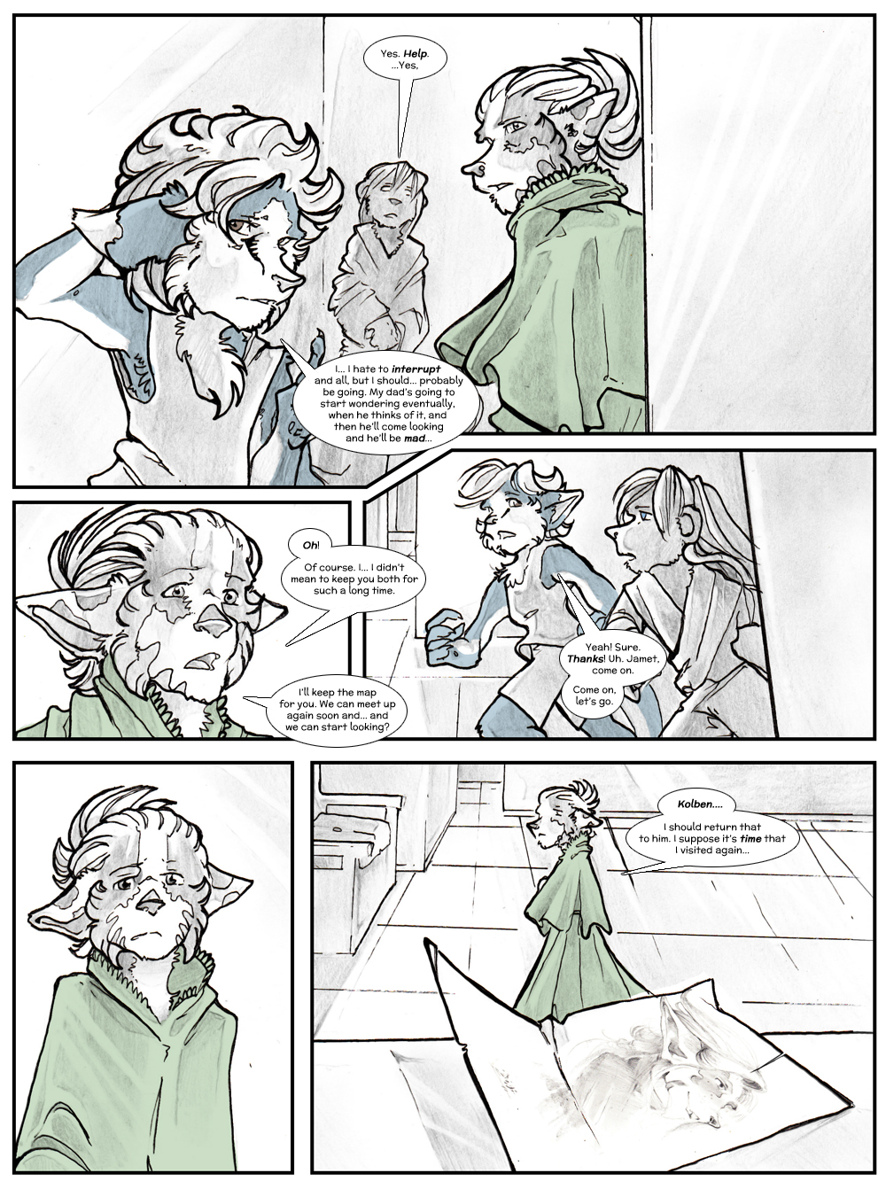 Chapter Three: Jamet's Story: Page 90