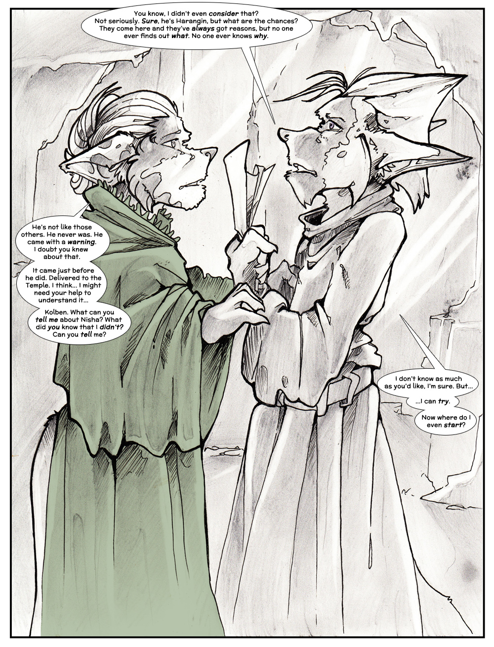Chapter Three: Jamet's Story: Page 107