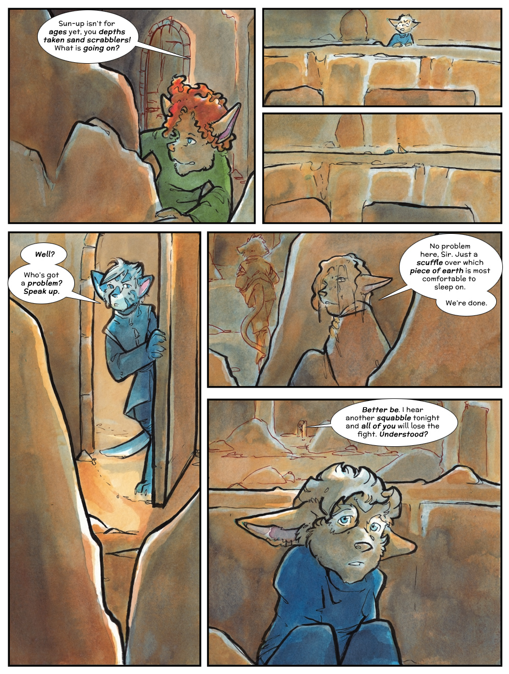 Chapter Three: Jahrd's Story: Page 207