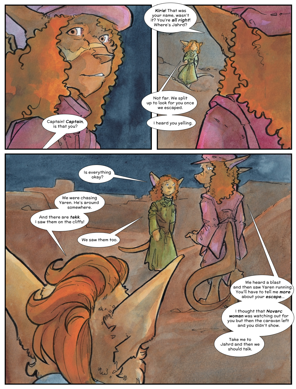 Chapter Three: Jahrd's Story: Page 237