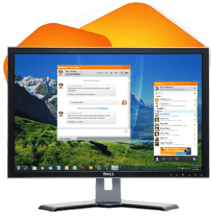 How to Facebook Chat without Opening Web Browser in Windows PC from Nimbuzz