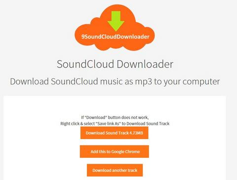 download soundcloud url