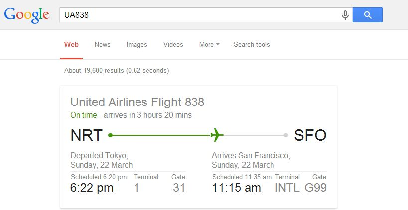 google-flight-search