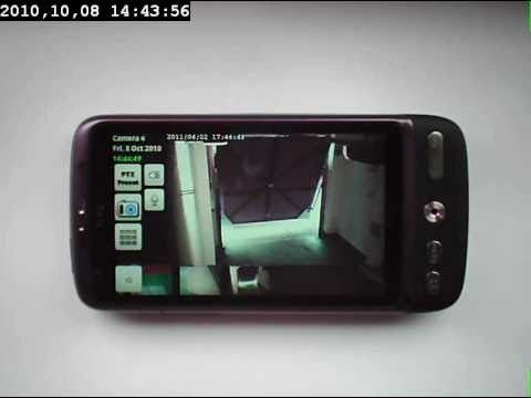 Use Your Phone as a surveillance Camera