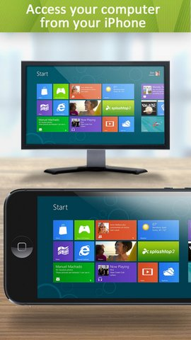 Control or Mirroring Mac and Windows PC from iPhone Splashtop
