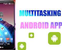 Multitasking android apps
