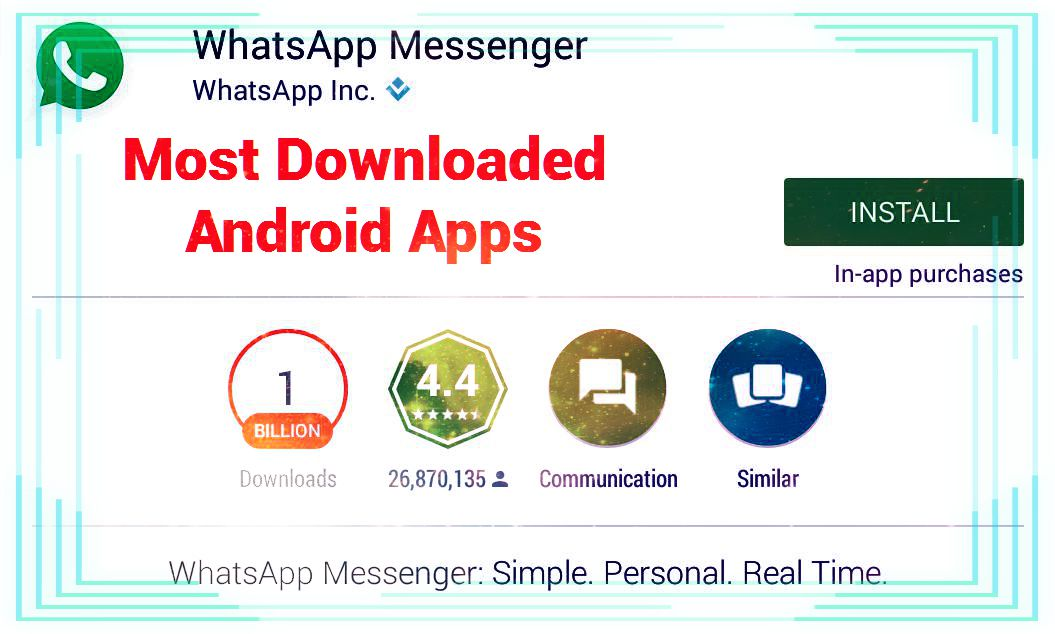 Most Downloaded Android App