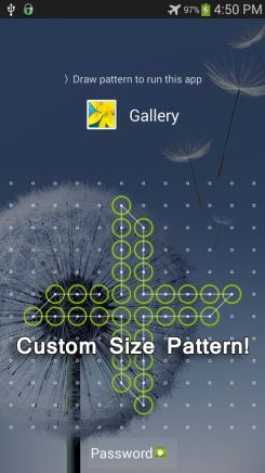 Custom Pattern Lock