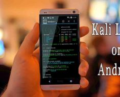 How to Install and run Kali Linux on your Android Mobile
