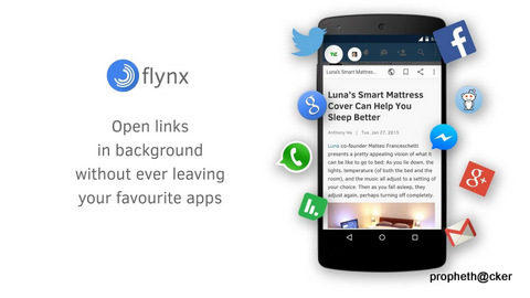 flynx popup android browser