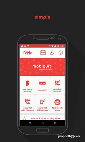 Mobiquiti Android App