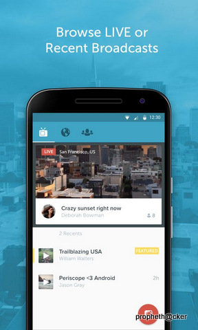 Periscope Android App