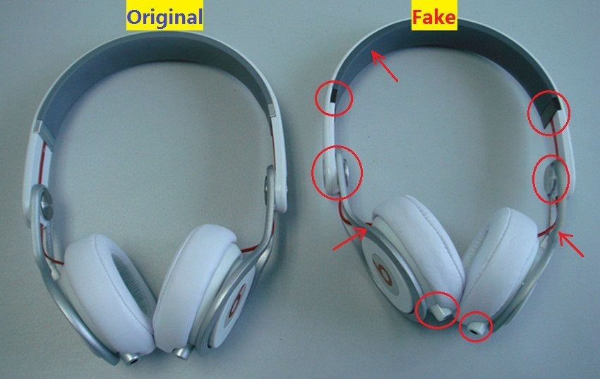 Difference Between Duplicate Original and Fake Beats Headphones