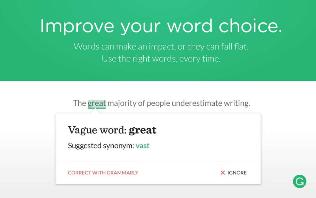Grammerly Chrome Extension