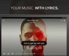 Play Music with Lyrics in Phone -Musixmatch App