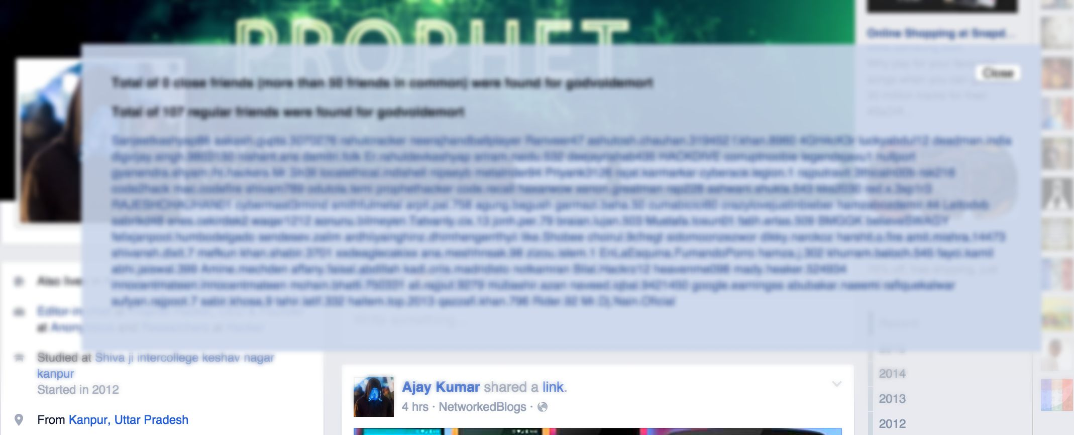 How To See Someone's Hidden Friends List On Facebook in 1 Min