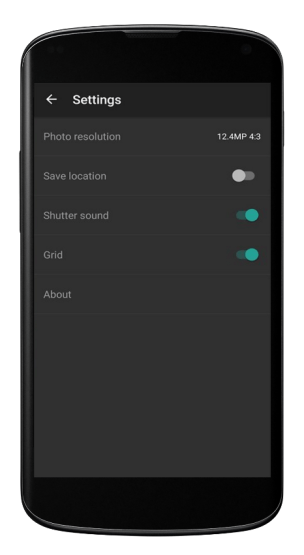 Turn Off Camera Shutter Sound in Android Phone