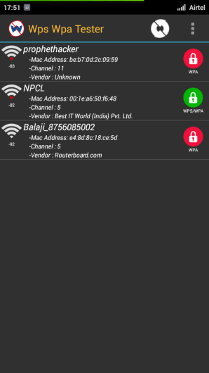 WPA WPS Tester App for Hacking WiFi Password from Android Mobile