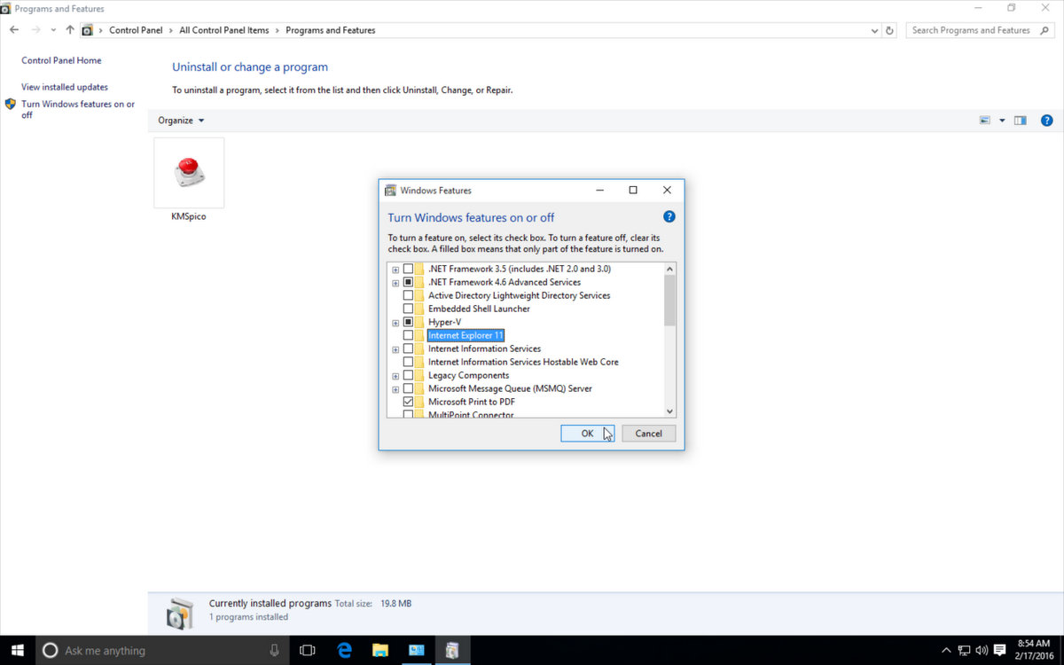 how to uninstall ie 11 in windows 10 Free Downloads ▷▷