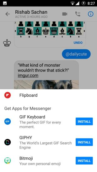 Sync with Additional Apps in Facebook Messenger