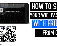 How to Share your WiFi with Friends from QR Code
