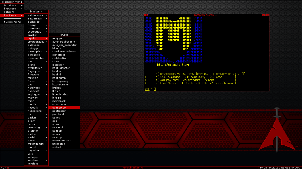 BlackArch - Best Penetration Testing Toolkit