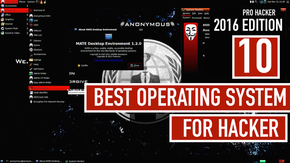 Advice from a Real Hacker : Top 10 Advanced Operating Systems For Hacking