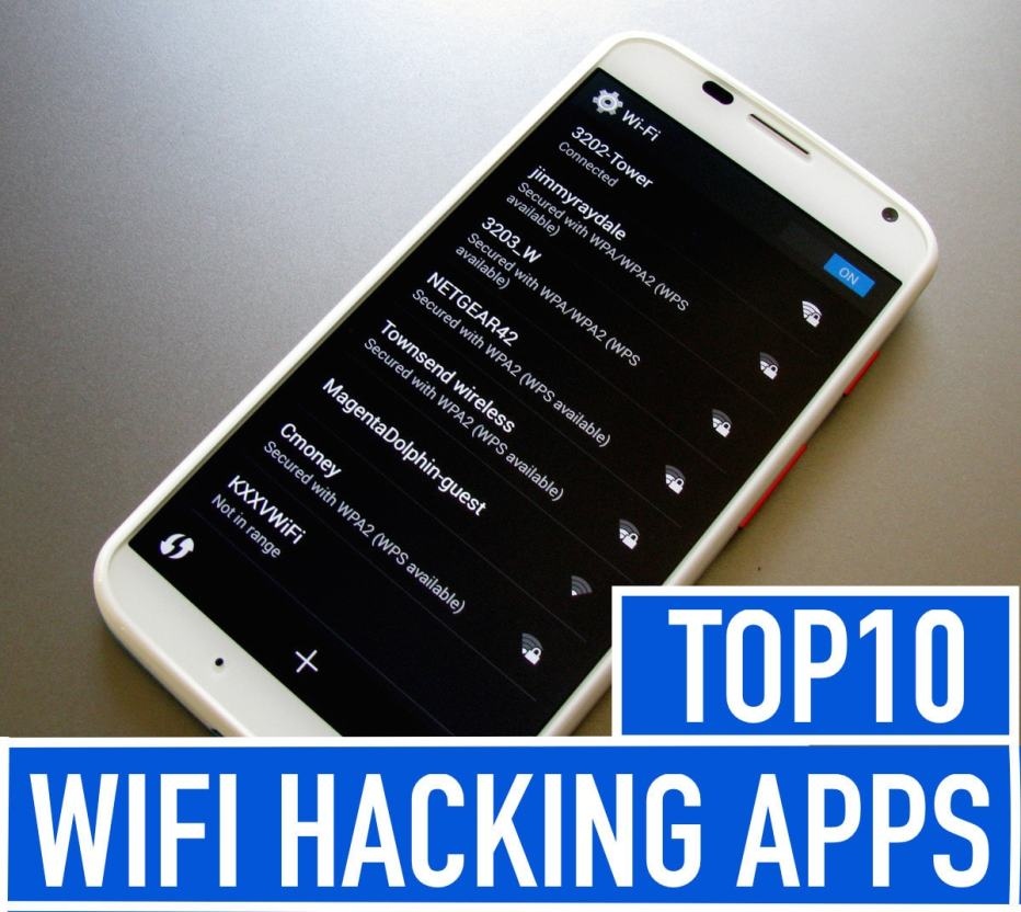 Top 10 Best WiFi Hacking Apps for Android Mobile