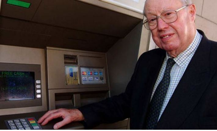 John Adrian Shepherd-Barron inventor of Automated Teller Machine