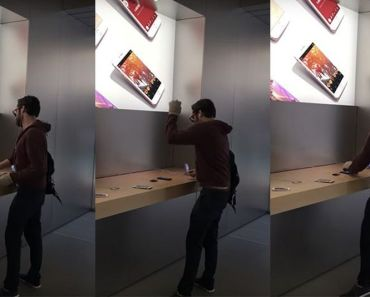 French man walks into Apple store and smashes $56,000 worth of iPhones in Apple store