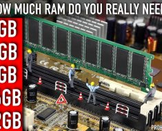 How much RAM do you really need for your Window 10 Computer ?