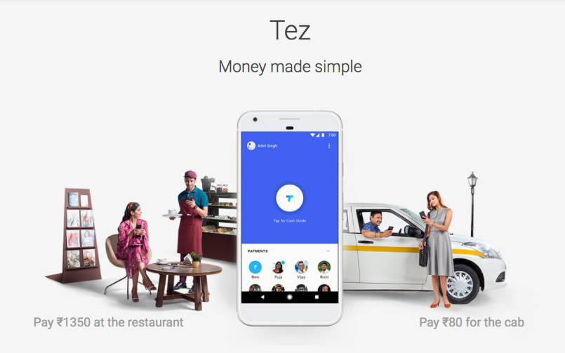Google Payment App Tez for Transfer Money
