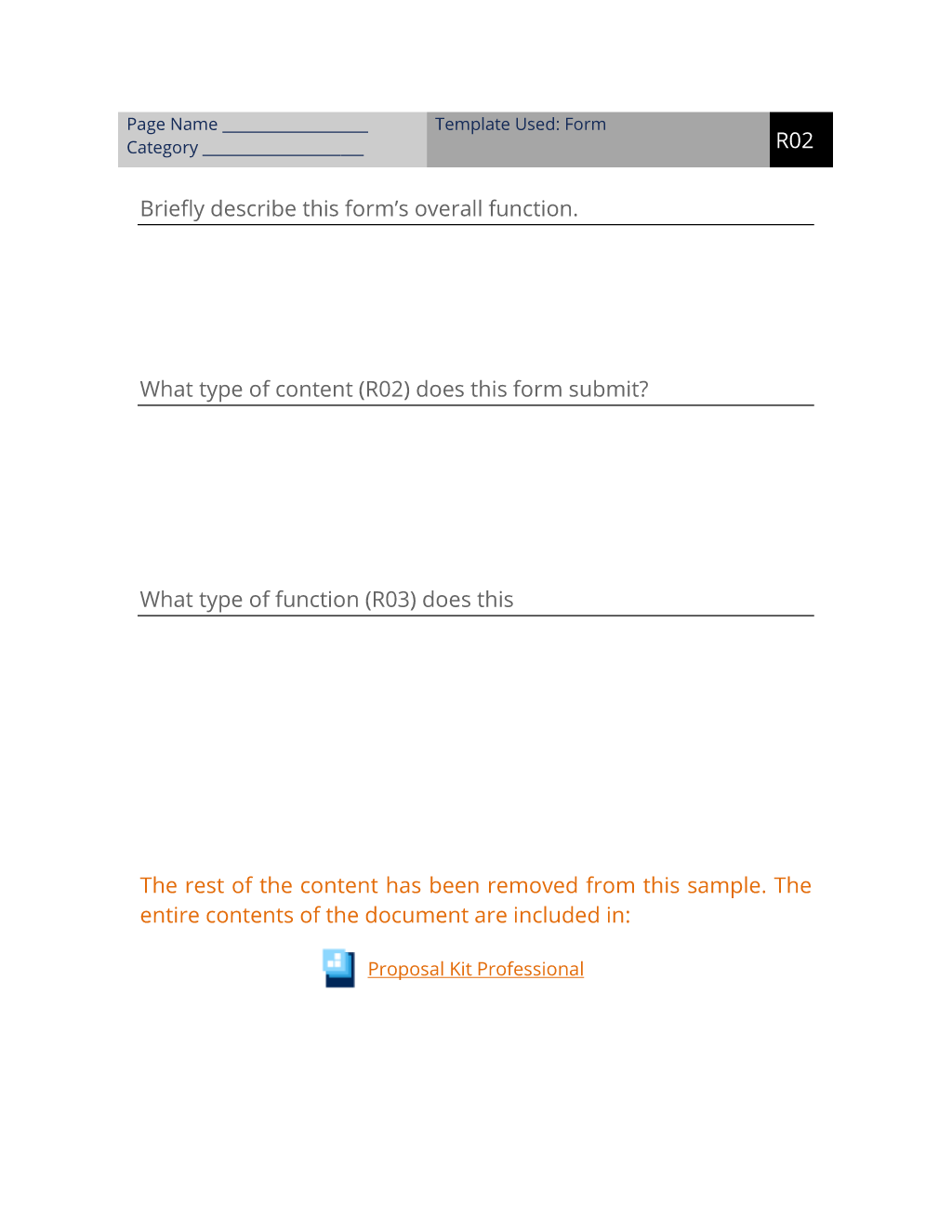 Describe User Controlled Content Worksheet R02