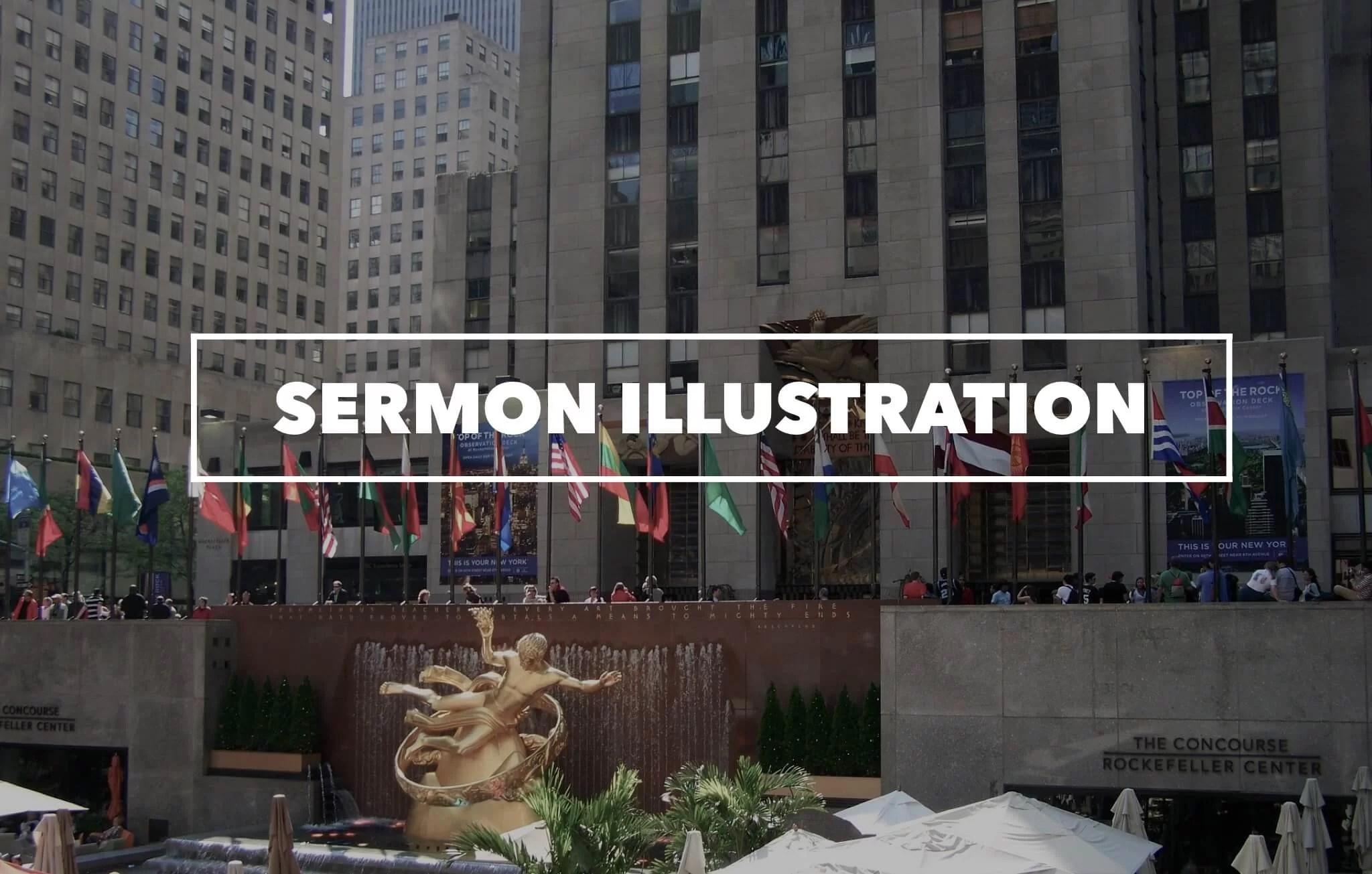 sermon illustration on giving