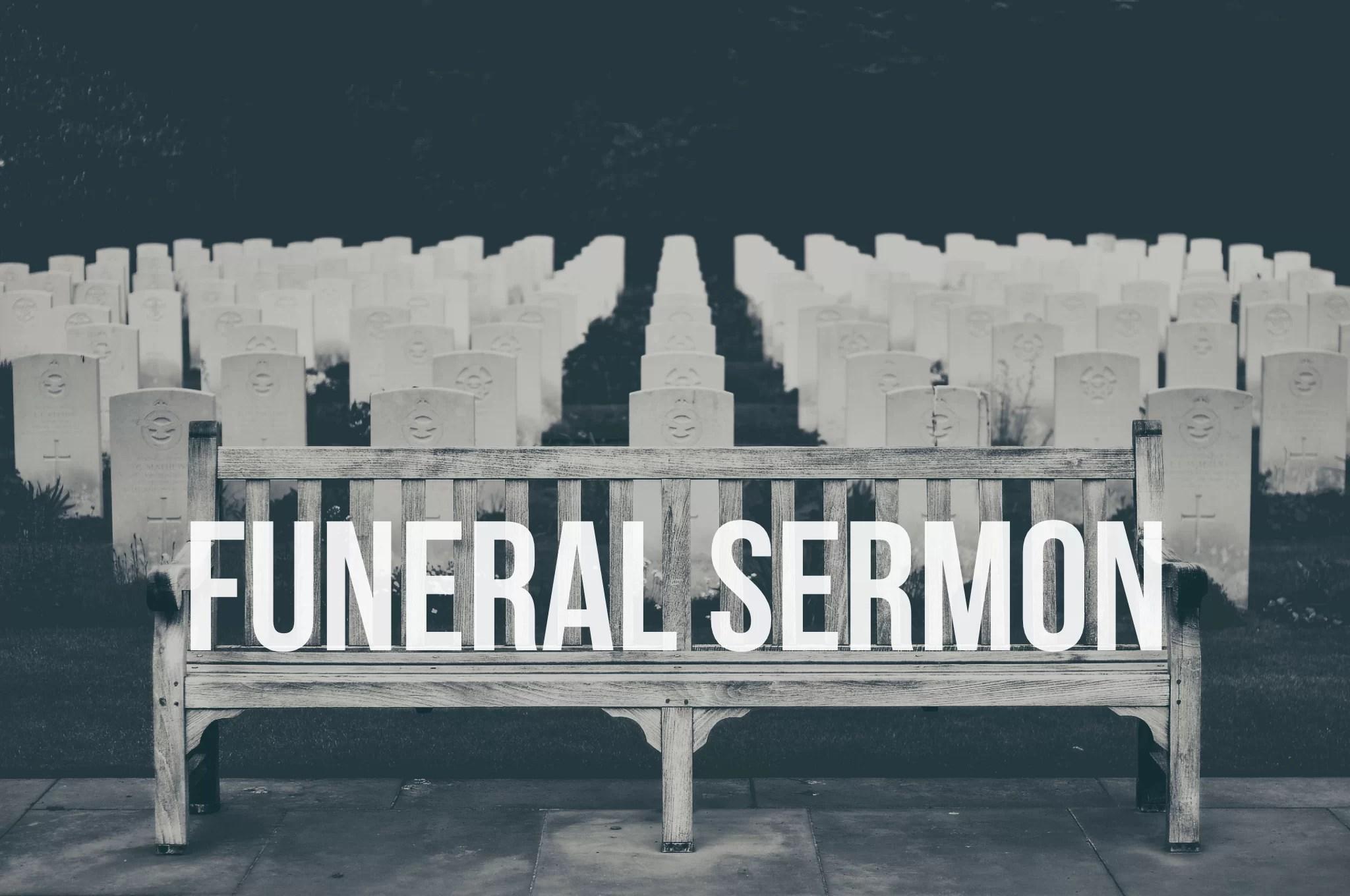 free funeral sermon