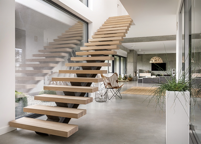 Beautiful Hazard Pro Remodeler | Wood Stairs Over Concrete | Stair Stringers | Cement | Concrete Slab | Patio | Build