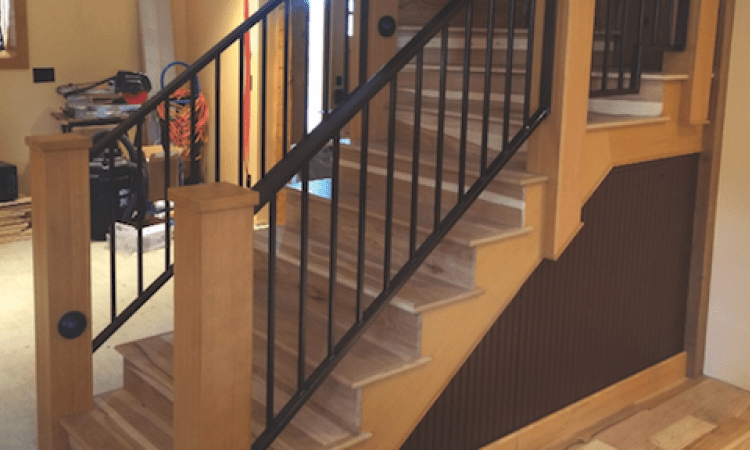 How To Build Boxed Newel Stairs Pro Remodeler | Craftsman Style Newel Post | Design | Staircase | Railing | Square | Interior