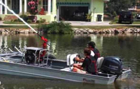 Fire Boat Pump