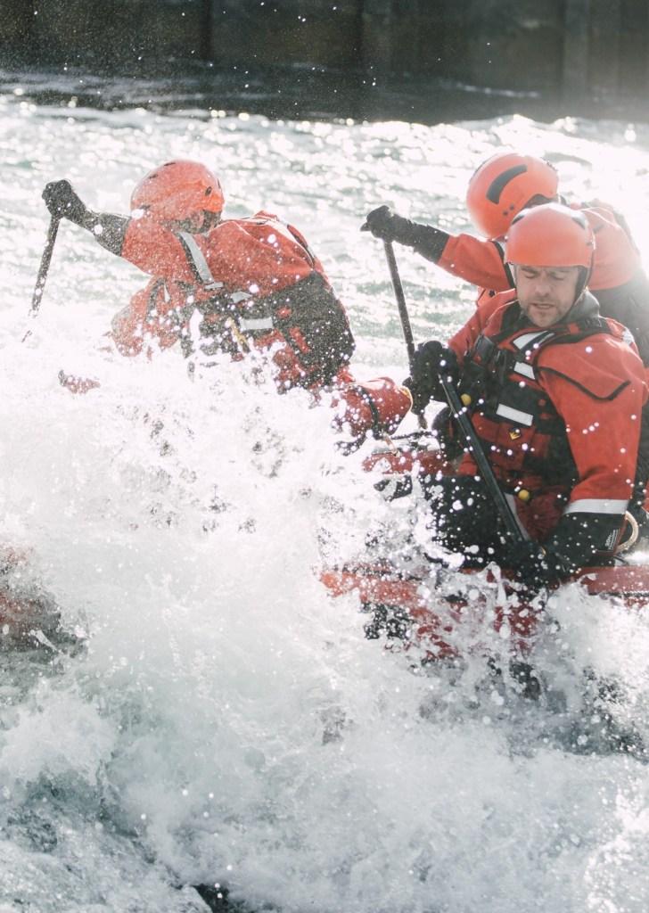 Swift Water Rescue Boat Training