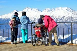 Winterurlaub mit Rollstuhl