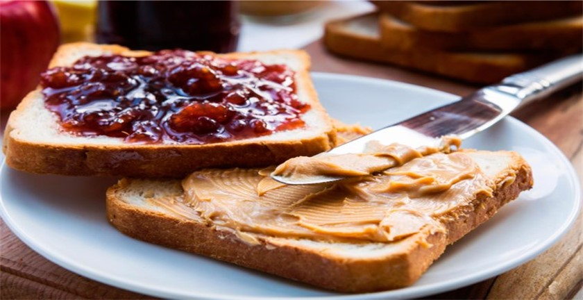 peanut butter and jelly sandwich good for weight loss