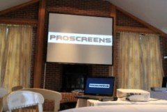 Projector and screen packages
