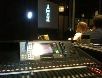 Sound Mixing Desk hire