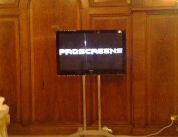 plasma screens hire-rental