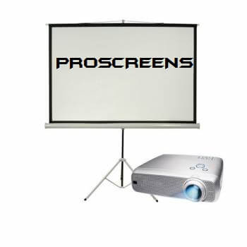 Small projector and screens hire Surrey