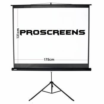 tripod screen hire